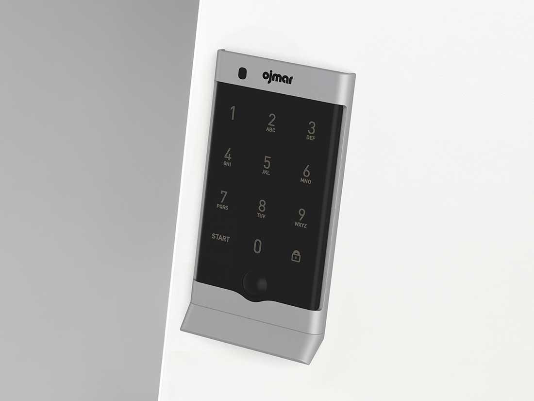 Ojmar OCS PRO Silver electronic lock
