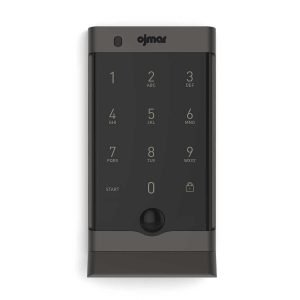 Ojmar OCS PRO Black electronic lock front View