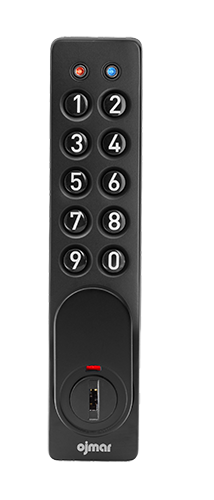 Ojmar Black electronic ADA Lock with Push buttons