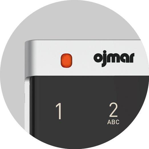 Ojmar LED Indicator RED