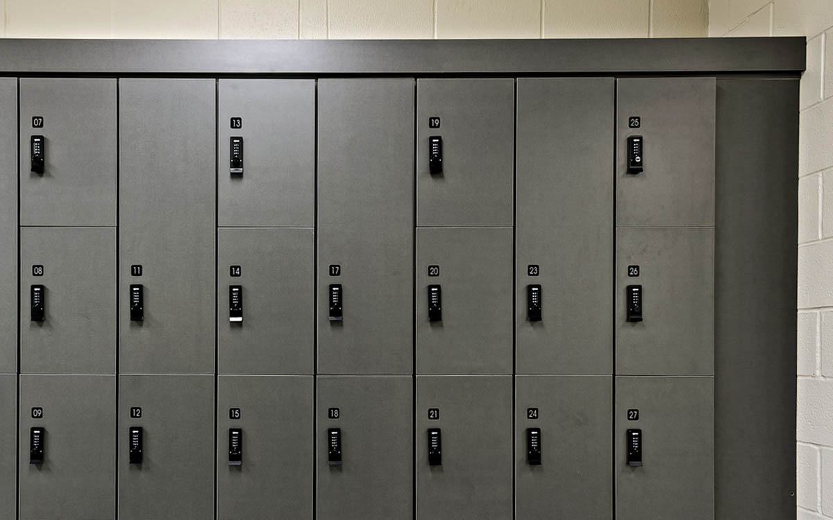 Client YMCA | Lockers RFS SPORTS |  Lock COMBI PRO