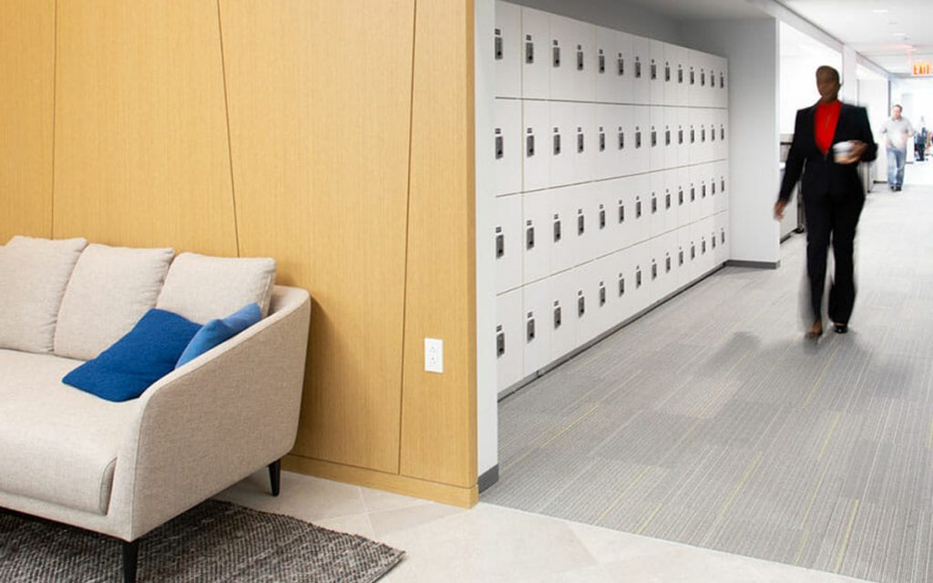 Ojmar Combi combination lock in office space