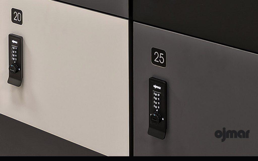 Ojmar Combi Pro Black Combination lock