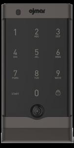 Black OCS Smart Bluetooth electronic lock