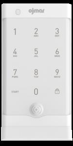 White OCS Smart Bluetooth electronic lock